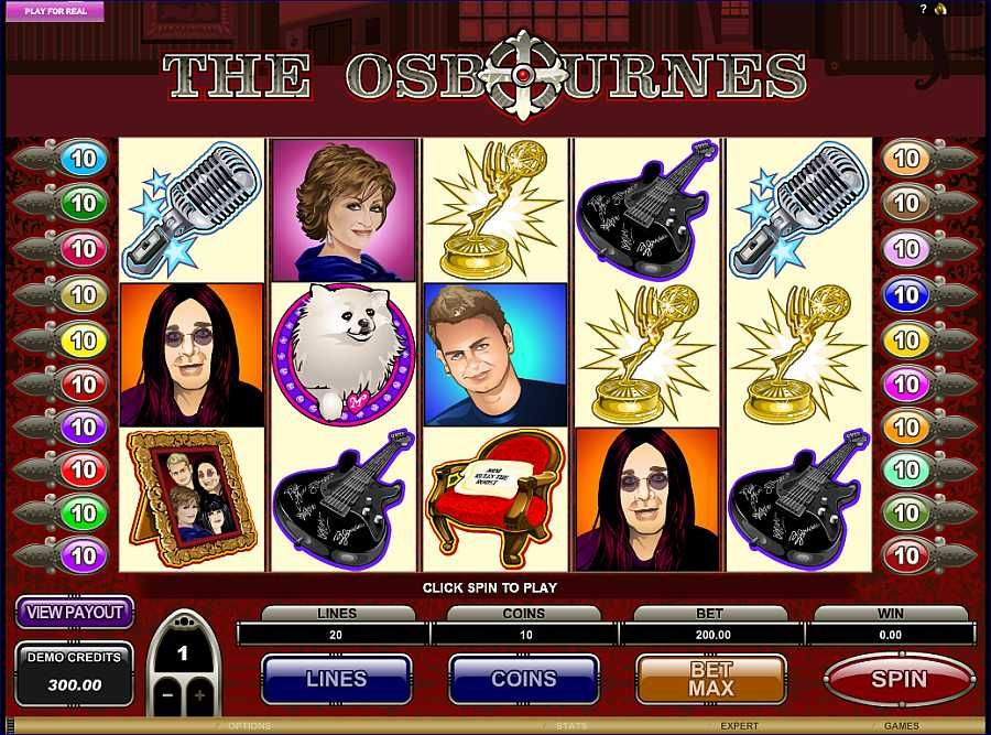 The Osbournes Slots Game