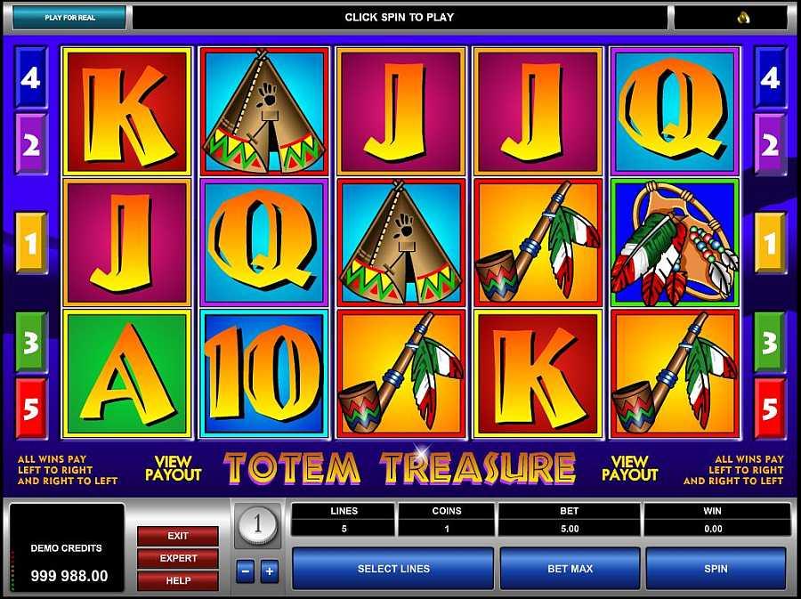 Totem Treasure Screenshot