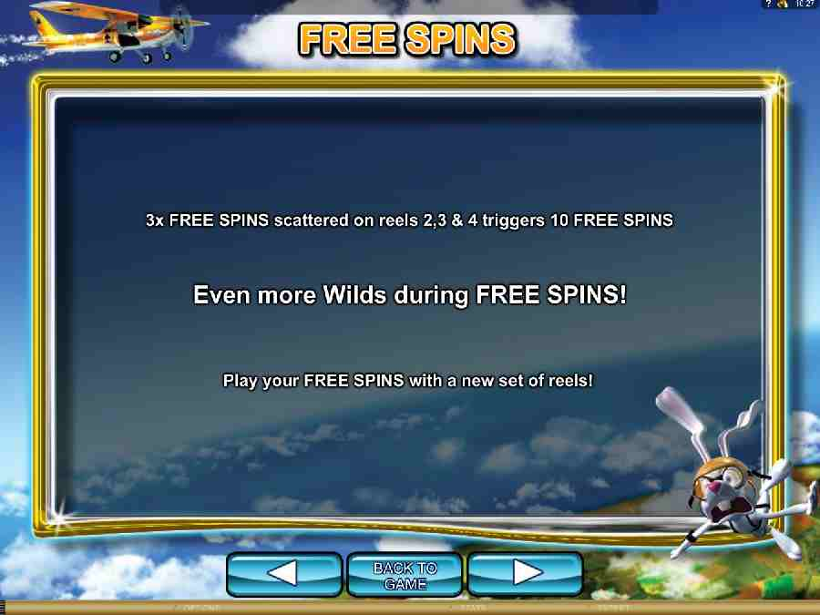 Jumpin Rabbit Free Spins Feature