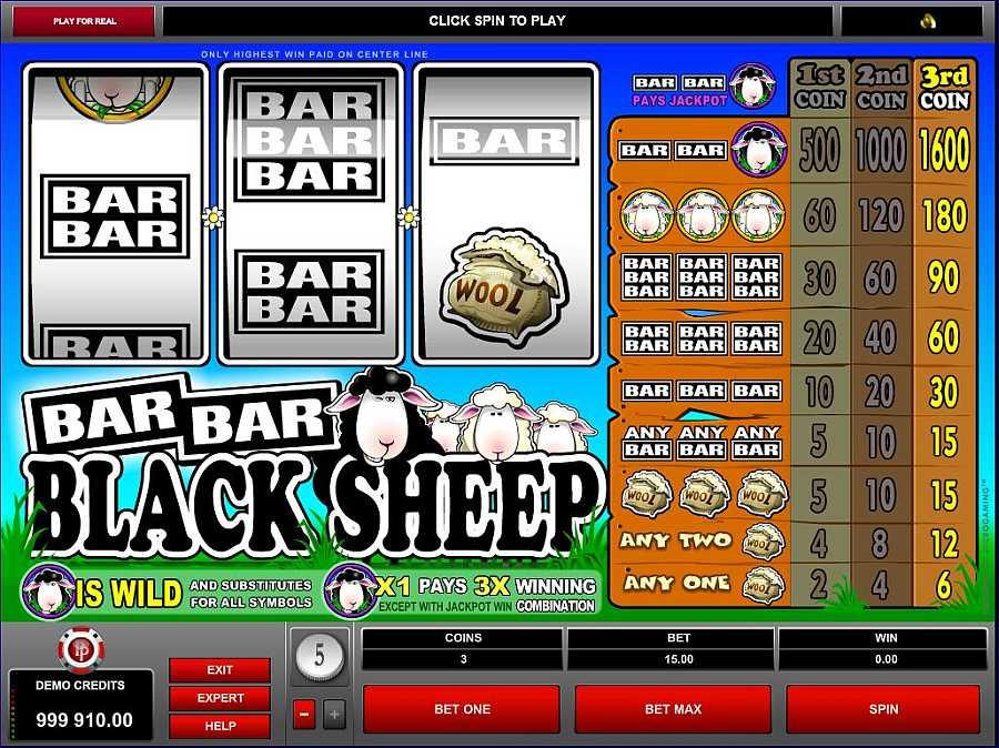 Bar Bar Black Sheep Screenshot