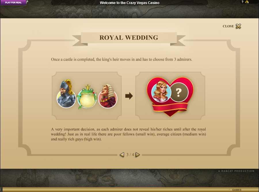Castle Builder Royal Wedding