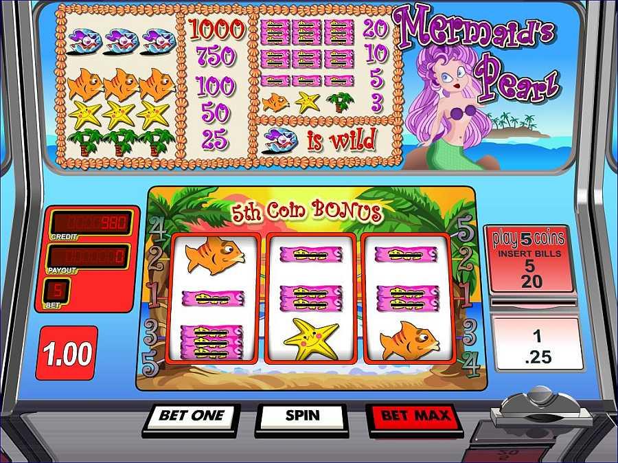 Mermaids Pearl Screenshot