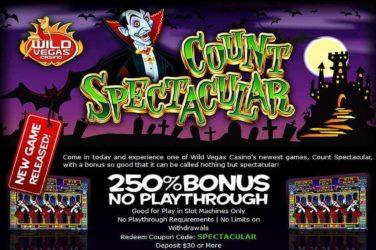 Wild Vegas Deposit Code SPECTACULAR