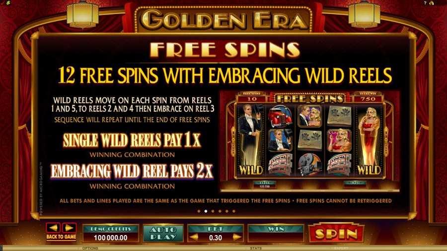 Golden Era Embracing Wild Reels