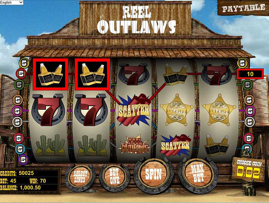 Reel Outlaws Screenshot