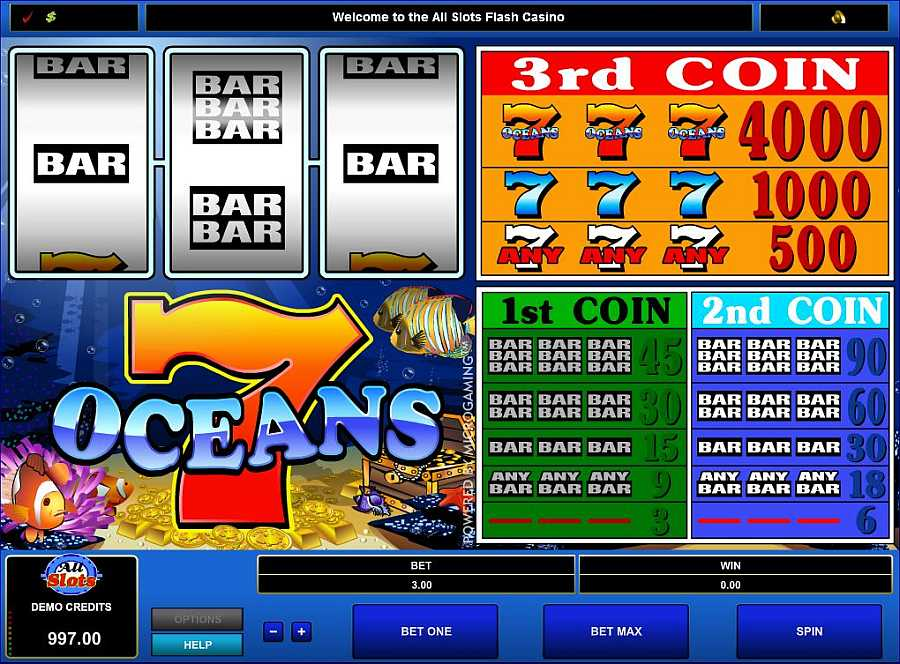 7 Oceans Screenshot