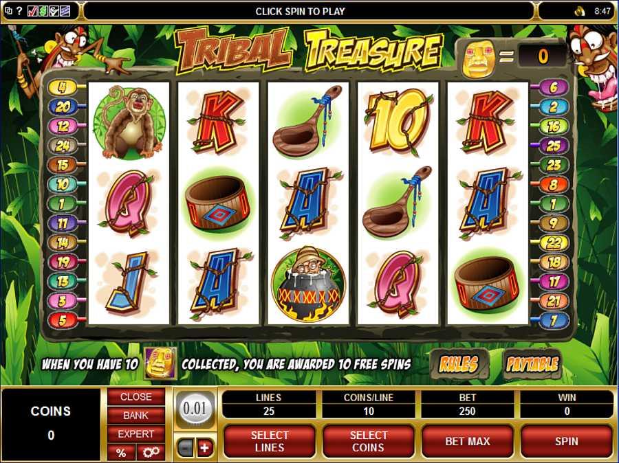 Tribal Treasure Screenshot
