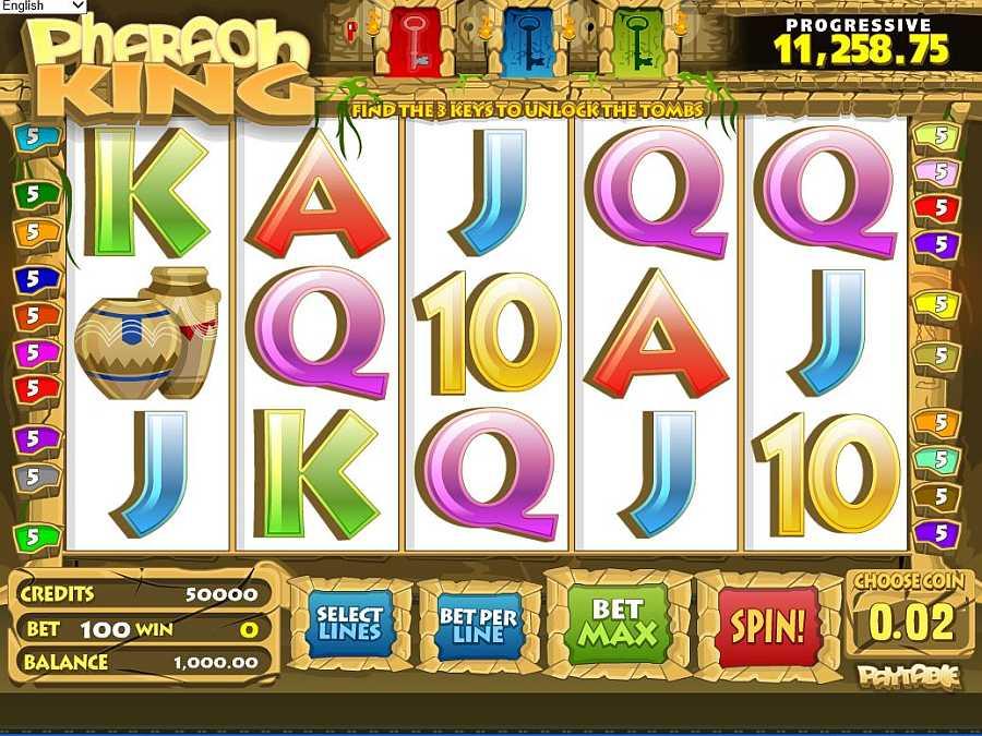 Pharaoh King Screenshot
