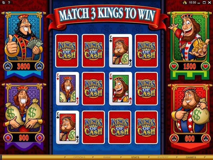 Kings of Cash Bonus Round