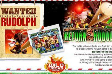 Wild Vegas Deposit Code 250RUDOLPH