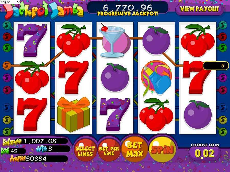 Jackpot Jamba Screenshot