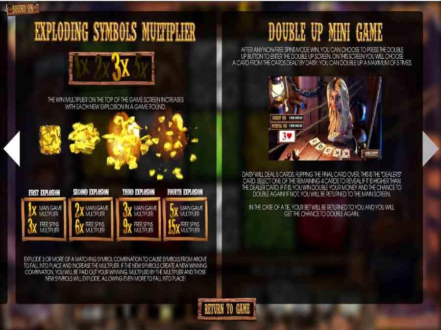 More Gold Diggin Bonus Features