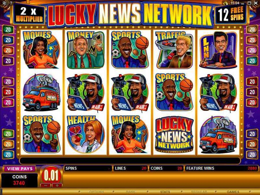 Lucky News Network Free Play Mode