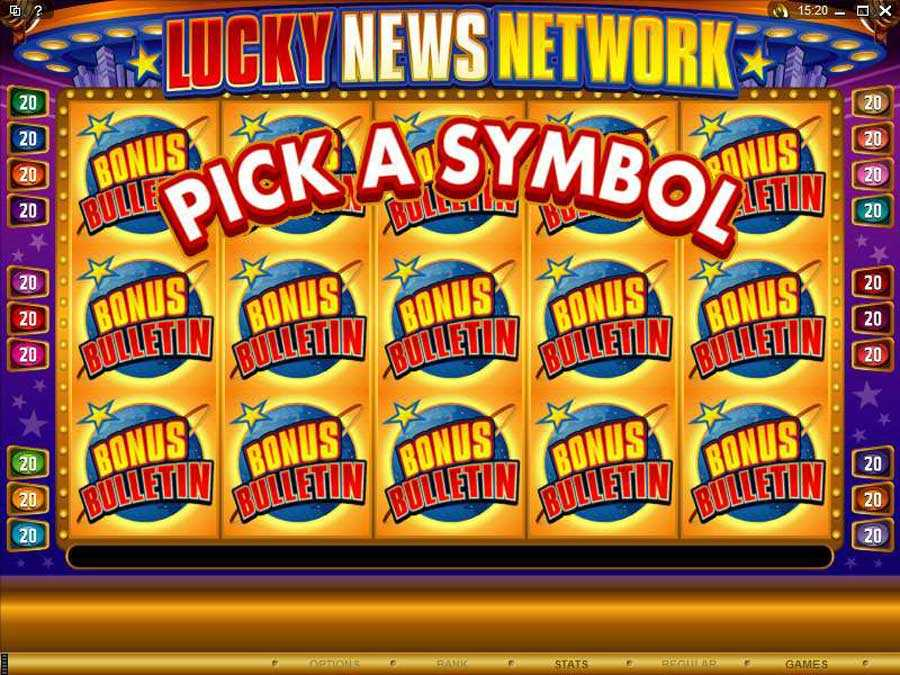 Lucky News Network Pick a Bonus