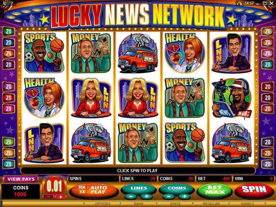 Lucky News Network Screenshot