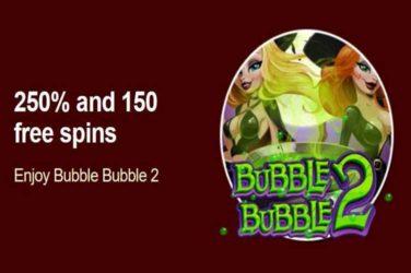 Grande Vegas free spins Bubble Bubble 2 code
