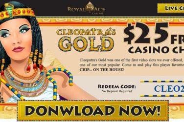 Royal Ace No Deposit Code CLEO25
