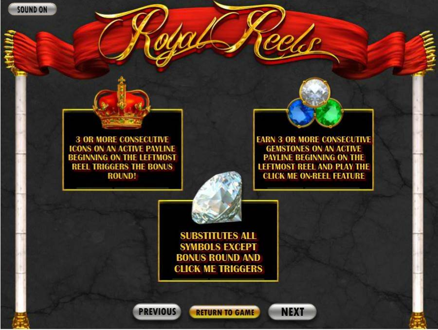 Royal Reels Bonus Feature