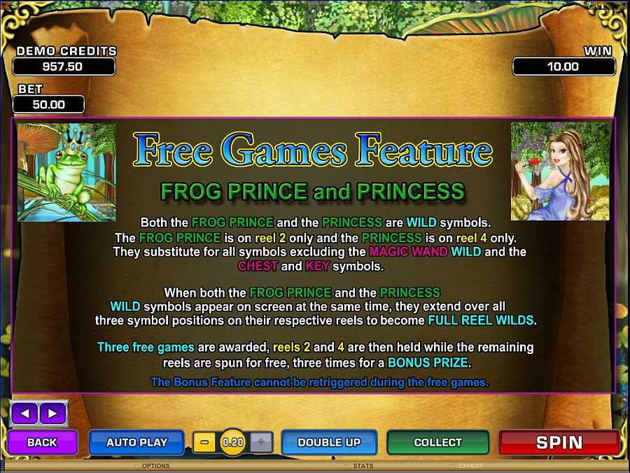 Magic Charms Free Games Feature