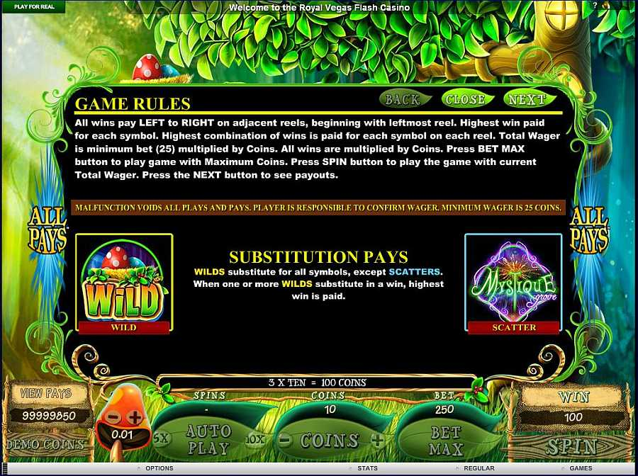 Mystique Grove Bonus Feature