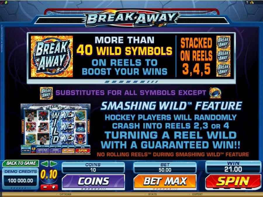 Break Away Bonus Features
