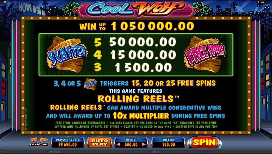 Cool Wolf Free Spins Feature
