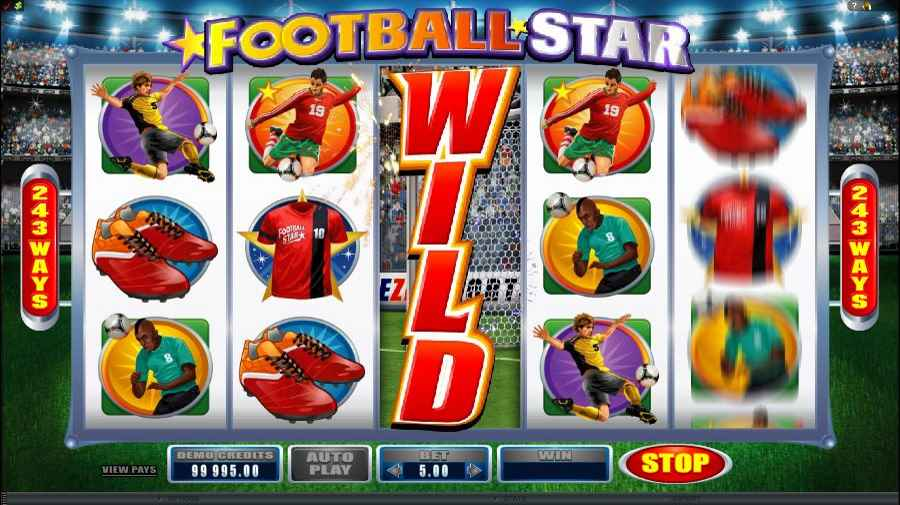 Football Star Wild Screen