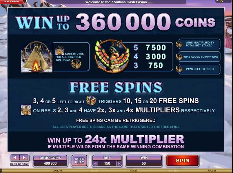 Mystic Dreams Free Spins Feature