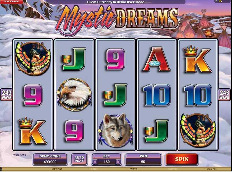 Mystic Dreams Screenshot