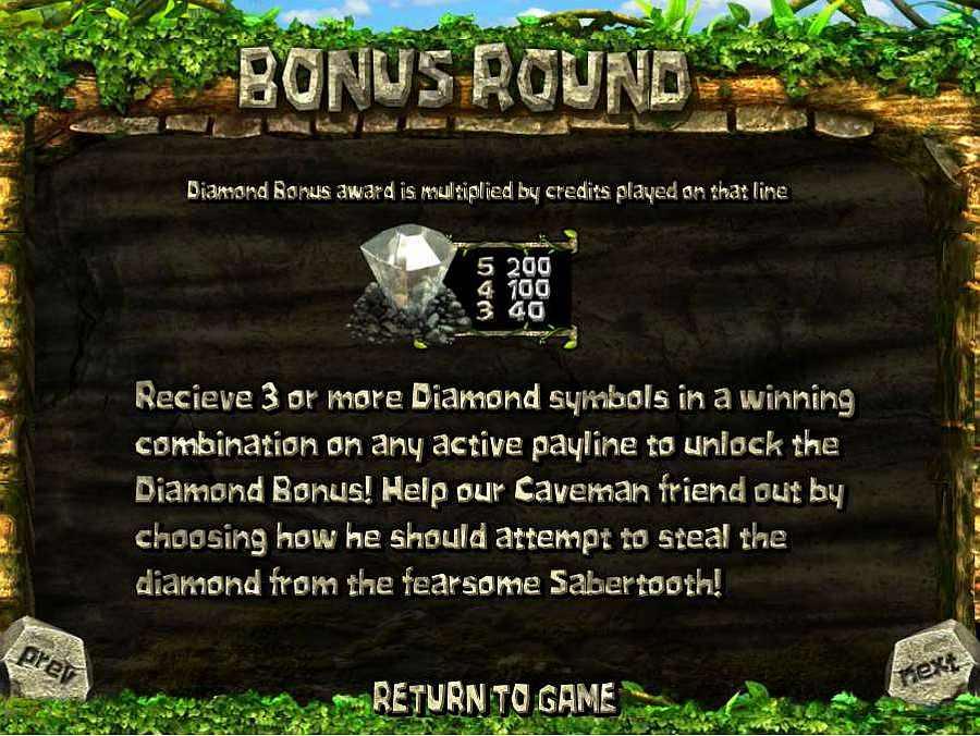 2 Million BC Bonus Round Feature