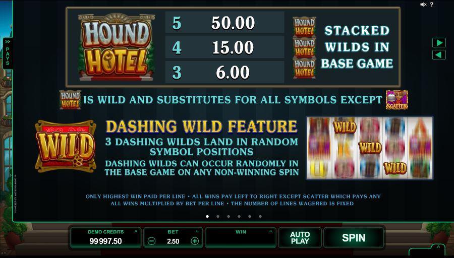 Hound Hotel Bonus Features