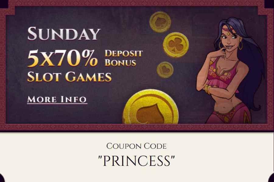 Aladdin's Gold Sunday Bonus: PRINCESS