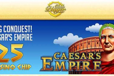 Club Player No Deposit Code EMPIRE100