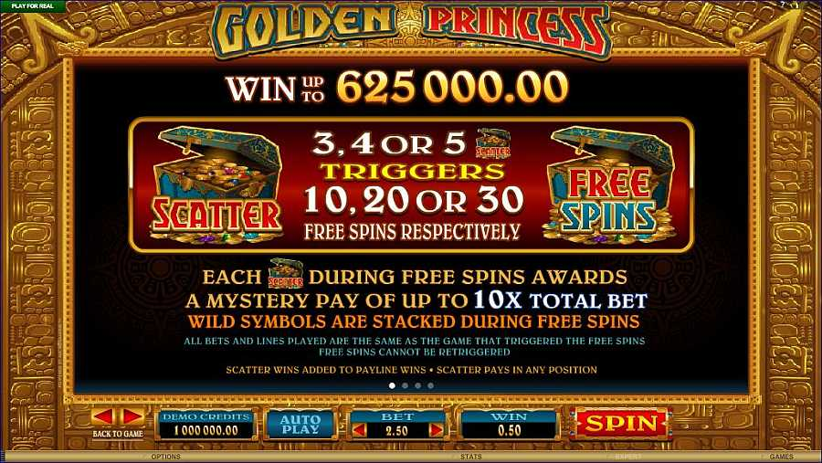 Golden Princess Free Spins Feature
