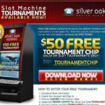 Silver Oak No Deposit tournament Code
