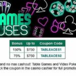 Uptown Aces Table Games Codes