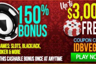 Vegas Casino Online Deposit Code IDBVEGAS