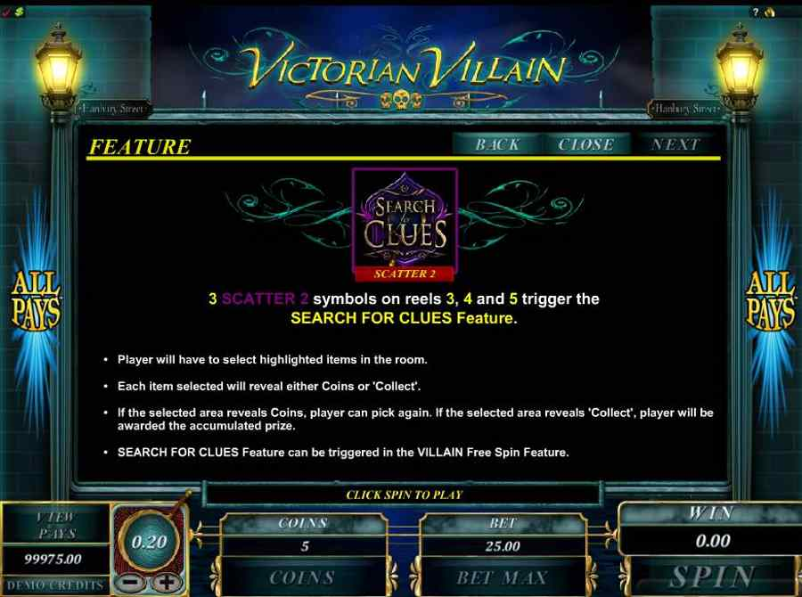 Victorian Villain Serach Clues Feature