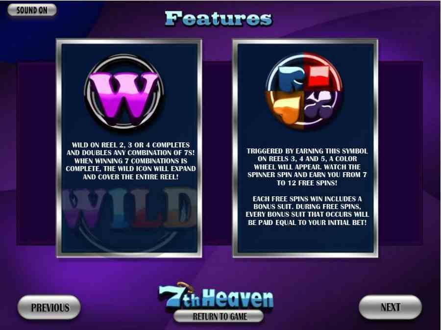 7th Heaven Bonus Features