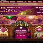 Aladdin's Gold Thursday Bonus Code