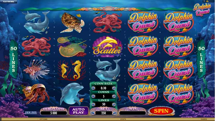 Dolphin Quest Screenshot