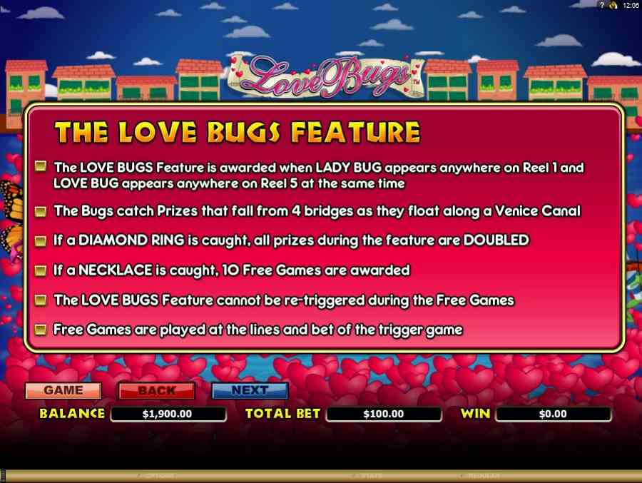 Love Bug Feature