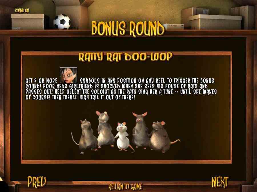 Ratty Rat Doo Wop Feature
