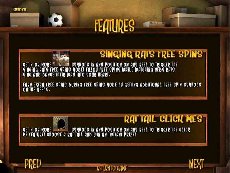 Bonus Features