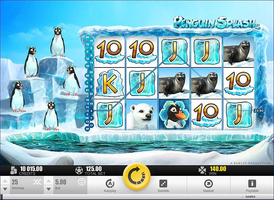 Penguin Splash Screenshot
