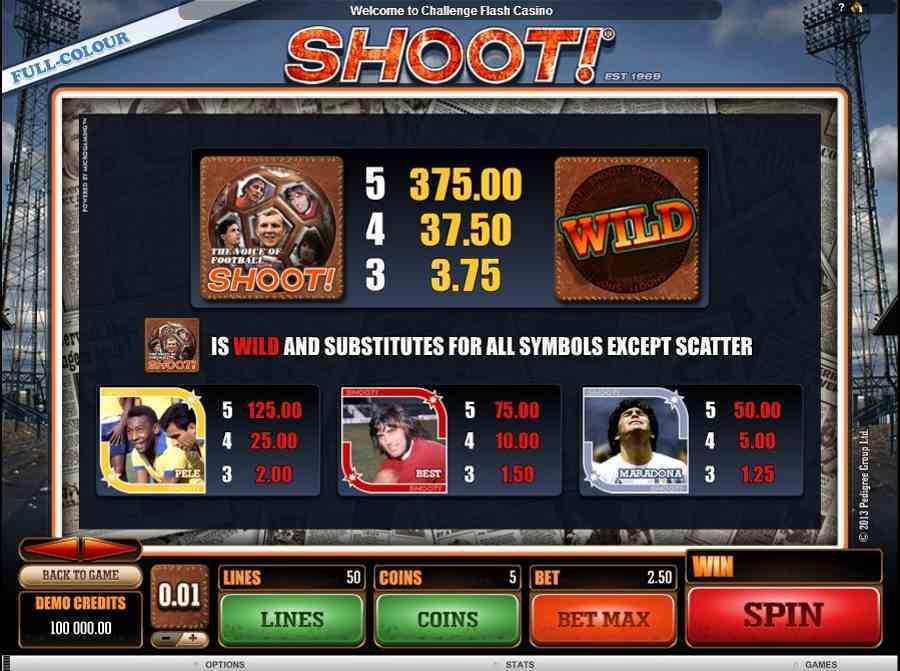 Shoot Wild Bonus Feature