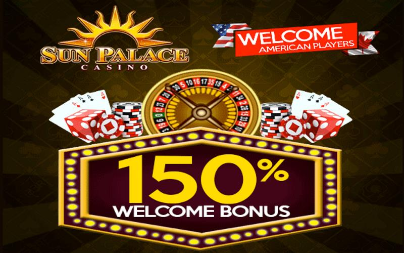 Sun Palace USA Welcome Bonus Code