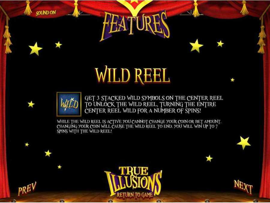 Wild Reel Feature