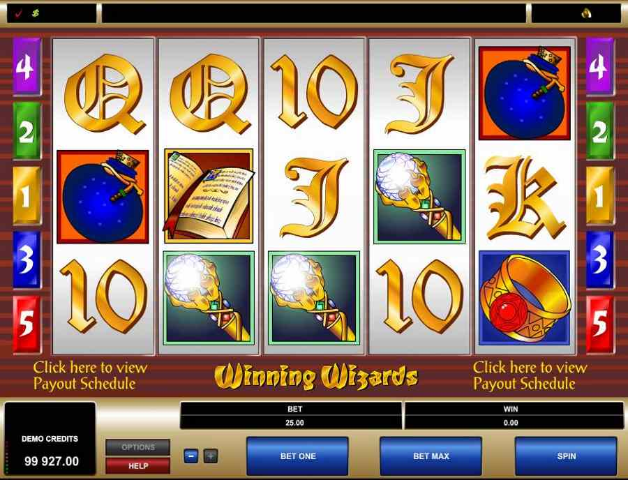 Winning Wizards Screenshot
