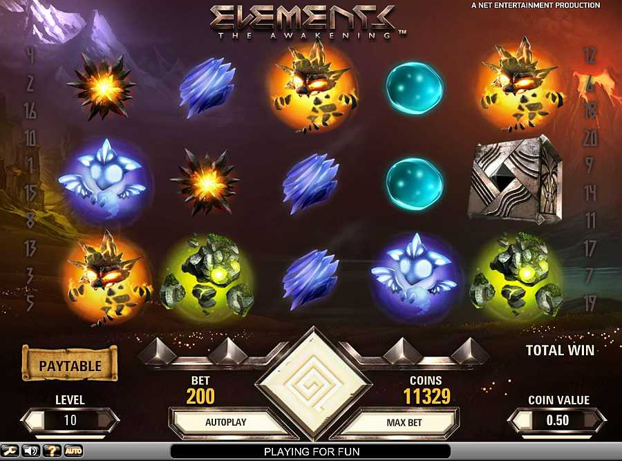Elements: The Awakening NetEnt Online Slot for Real Money